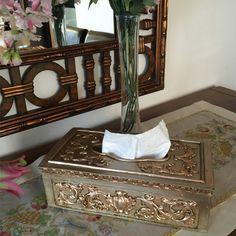 """Masalarınıza şıklığı getiren tasarım """"""""Gümüş Kağıt Mendil Kutusu"""""""" ❇✨ Detaylı incelemek için tıklayın..http://bit.ly/1LqdjEC #takı #aksesuar #mendil #gümüş #mendilkutusu"""