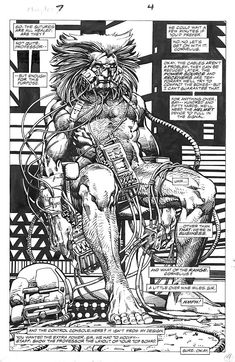 BRUDE'S WORLD — brianmichaelbendis: Weapon X by Barry...
