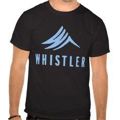 Whistler-logo Tshirts #sports #tshirt