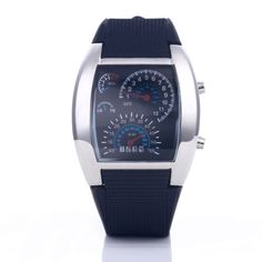Fashion silicone clock car meter dial #sports led #digital watches #women men wat,  View more on the LINK: 	http://www.zeppy.io/product/gb/2/152105564473/