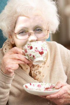 Elderly Pinky