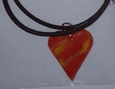 In A Heartbeat, Pendant Necklace, Gallery, Beauty, Jewelry, Fashion, Special Gifts, Leather Cord, Waves