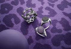 Pandora Autumn 2013 Jewelry Collection at a glance. Pave Ring, Druzy Ring, Gemstone Rings, Pandora, Jewelry Collection, Autumn, Purple, Winter, Color