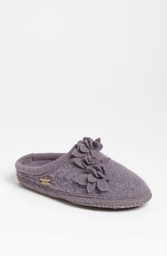 Haflinger 'Romantic Flowers' Slipper available at #Nordstrom