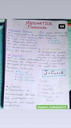 Juros simples e compostos Vestibular, Organization, Lettering, School, Learn Math, Road Trip Organization, Motivation To Study, Accounting, Gothic Lolita