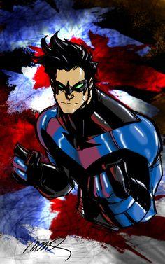 Nightwing Ramos My Colors by JamesLeeStone on deviantART