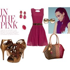 """""""In The Pink"""" by shopahaulica on Polyvore"""