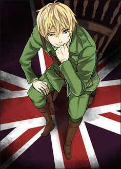 Hetalia England, because Iggy knows everything! >>> My friend needs to get a Pinterest, she loves Hetalia!