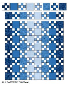 Can you keep a secret? This Single Irish Chain quilt showcases a simple  Nine-Patch in disguise.