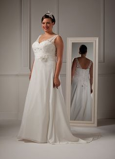 Special Day style 13870 ~ The Moderne Bridal, Cork #plussizebride #plussizebridal