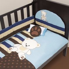 cama bebe edredon