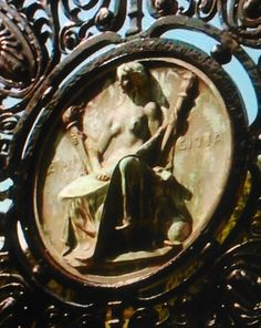 Hekate image from TV show Grimm...it was on a gate. ( I don't miss much when it comes to her)