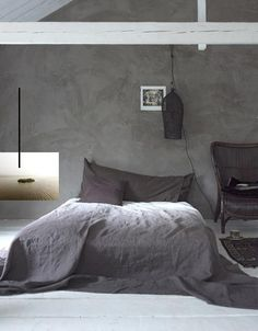 Smooth cement/concrete walls. ✭~~hh/
