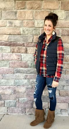 Plaid Outfit Idea