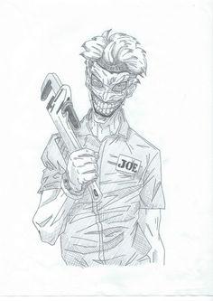 Joker artwork  (@erikajackfrusciante)