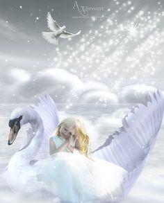 My lovely swan by annemaria48 on deviantART