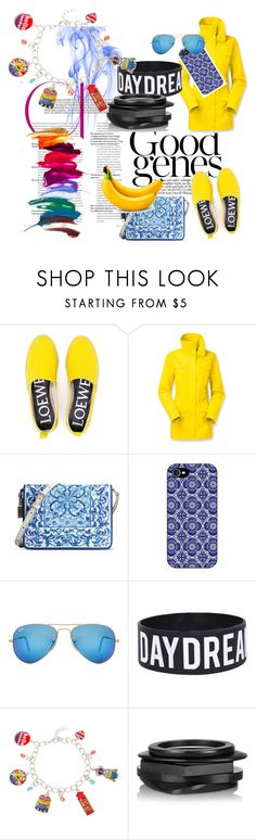 Me Myself & I ❤️ by infante-ana on Polyvore featuring The North Face, Loewe, Dolce&Gabbana, Kenneth Jay Lane and Ray-Ban