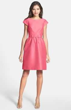 Alfred Sung Woven Fit & Flare Dress available at #Nordstrom