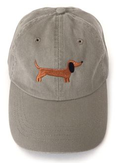 0439fbcb081 Wear your breed proud with the Dachshund Baseball Cap. A great gift for any  Dachshund owner.