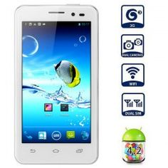 This phone will only work with GSM+WCDMA network Network frequency: GSM 850/900/1800/1900MHz WCDMA 2100MHz  Unlocked for Worldwide use, please check if your local area network is compatible with this phone  Highlights: Type: 3G Smart Phone Color: White OS: Android 4.2  CPU: MTK6589 Cortex... Click on Picture to go to Store