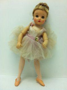 vintage Madame Alexander Ballerina doll Elise 14 bent knee