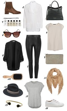 Chic travel outfit from thedashingrider.com. More is up on the blog. #travel #travellook