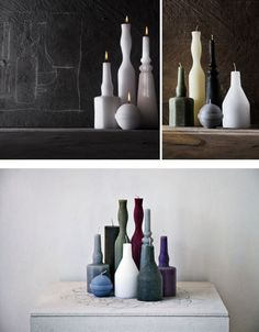 Candles as still life ...