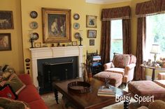 Betsy Speert's Blog: City Cottage Living Room