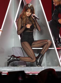 Selena Gomez gets sexy for Revival Tour concert in LA