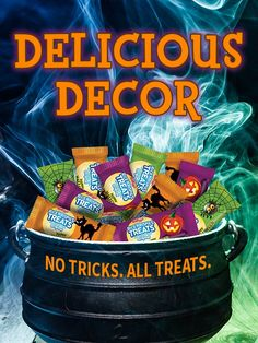 Promoted: Seasonal wrappers transform Rice Krispies Treats into tasty Halloween décor.