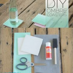 Making your own coasters