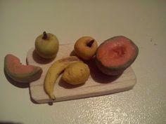 frutta fimo miniatura 1:12