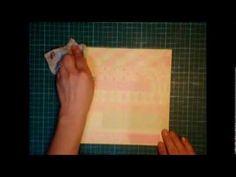 Tutorial de encuadernación con bolsillos - YouTube