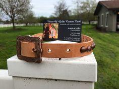 Customer ordered dog collar | Heart Of Golde Custom Tack
