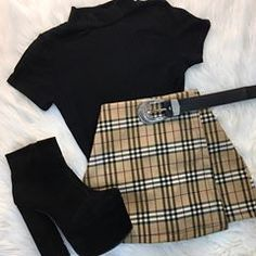 clothes for women,casual outfits,base layer clothing,casual outfits Teen Fashion Outfits, Edgy Outfits, Mode Outfits, Retro Outfits, Cute Casual Outfits, Grunge Outfits, Cute Fashion, Look Fashion, Korean Fashion