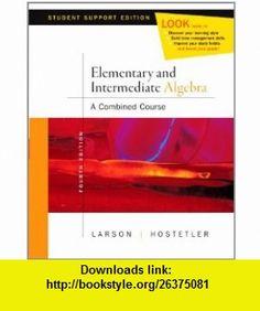 Elementary Algebra Media Enhanced Ed (9780618753963) Roland E. Larson, Robert P. Hostetler , ISBN-10: 0618753966  , ISBN-13: 978-0618753963 ,  , tutorials , pdf , ebook , torrent , downloads , rapidshare , filesonic , hotfile , megaupload , fileserve