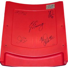 "Steiner New York Giants ""Super Bowl Xlii"" 5 Signature Seatback"