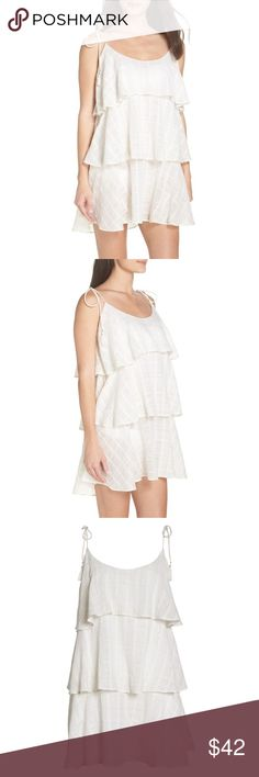 d2aeb336db70 Muche et Muchette Mariah Ruffled Cover-Up Dress NWOT Size-One Size( fits