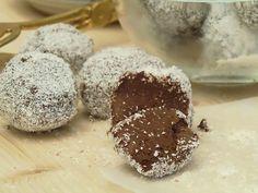 Pasticcini alla Nutella e Cocco senza cottura e velocissimi
