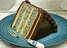 Tort Tosca cu blat cu mac si crema de vanilie No Cook Desserts, Tiramisu, French Toast, Cooking, Breakfast, Ethnic Recipes, Mai, Kitchen, Morning Coffee