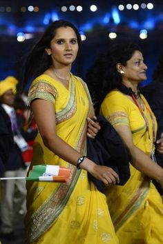 Sania Mirza at London Olympic 2012 Opening Ceremony. | Bollywood Cleavage