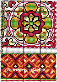 Gallery.ru / Фото #17 - Украинская вышивка ( Карпаты) - valentinakp