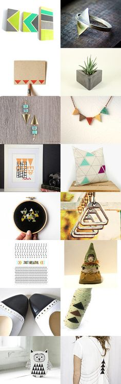 Equilateral by Linda Loca on Etsy