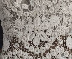 Image result for irish crochet dress
