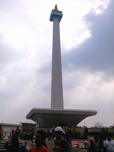 National Monument of Indonesia, Jakarta, Indonesia.