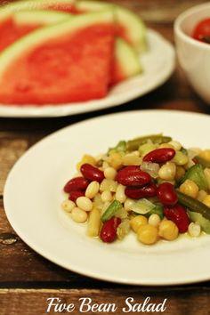 Five Bean Salad - Frugal Mom Eh!