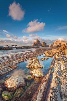 Playa de Arnia @ Liencres - Cantabria (Spain) por Eric Rousset