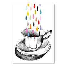 Teacup rain