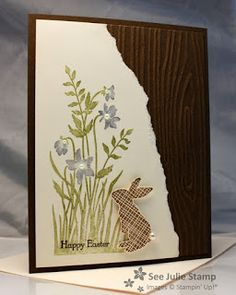 See Julie Stamp - Julie Wadlinger, Stampin' Up! Demonstrator : Happy Easter