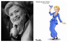 Veja quem são elas Princesa-Hillary-Clinton-1024x640